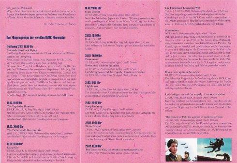 Programm der Filmwoche