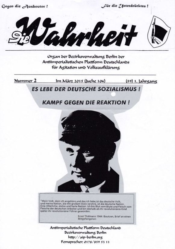 DW - 001 - Thälmann