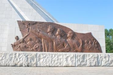 150704 - Naenara - Das Monument der Drei Chartas der Vereinigung des Vaterlandes - 05