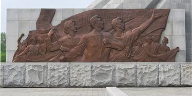 150704 - Naenara - Das Monument der Drei Chartas der Vereinigung des Vaterlandes - 06