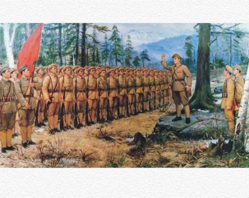 150705 - SK - Die unvergänglichen Verdienste um die Songun-Revolution - 01