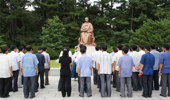 150730 - SK - Kang Pan Sok - Mutter von KIM IL SUNG - Für die Frauenemanzipation - 05