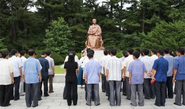 150730 - SK - Kang Pan Sok - Mutter von KIM IL SUNG - Für die Frauenemanzipation - 05