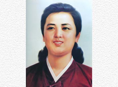 150920 - SK - Unvergänglich sind die Verdienste der Genossin Kim Jong Suk - 02