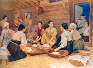 150920 - SK - Unvergänglich sind die Verdienste der Genossin Kim Jong Suk - 09