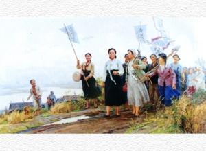 150920 - SK - Unvergänglich sind die Verdienste der Genossin Kim Jong Suk - 13