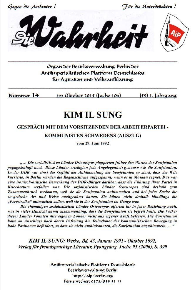 DW - 014 - KIM IL SUNG