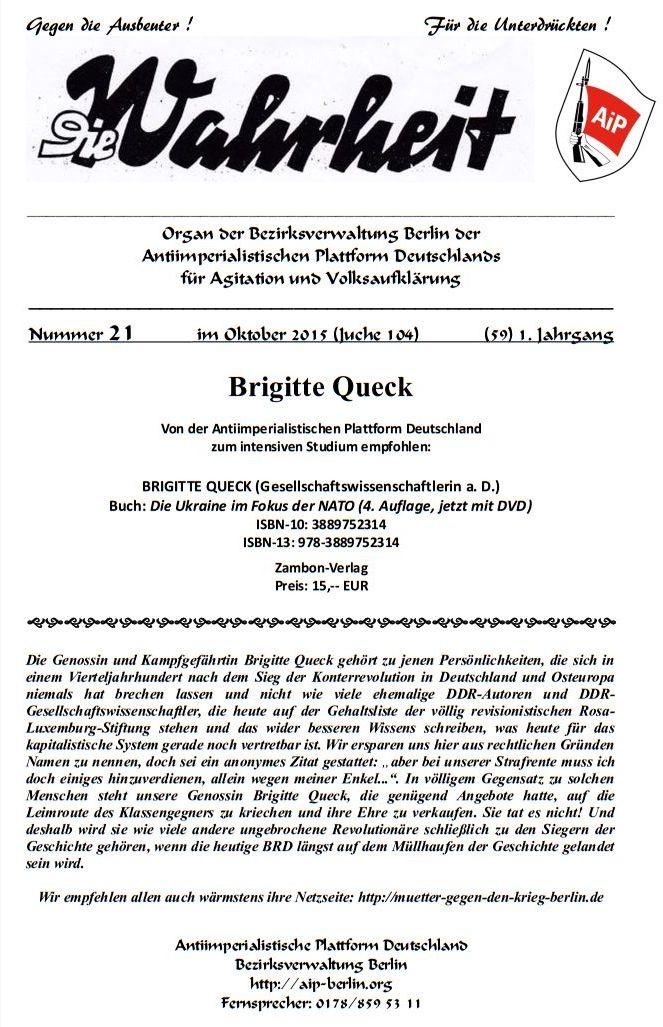 DW - 021 - Brigitte Queck - Ukraine NATO