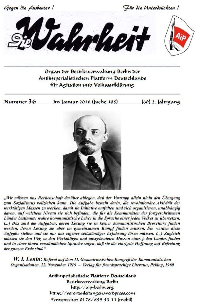DW - 036 - Lenin