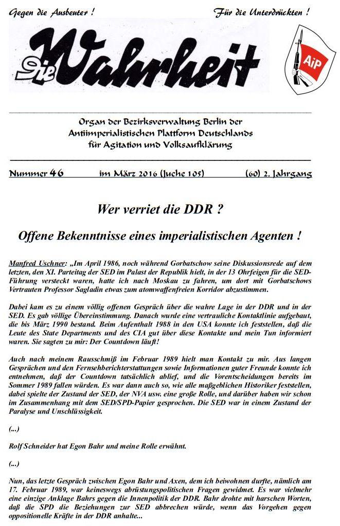 DW - 046 - Wer verriet die DDR - 01