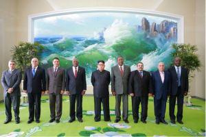 160701 - 조선의 오늘 - KIM JONG UN - Genosse KIM JONG UN empfing den Sondergesandten vom 1. Sekretär des ZK der KP Kubas und seine Begleitung - 07 - 경애하는 김정은동지께서 꾸바공산당 중앙위원회 제1비서 특사일행을 접견하시였다