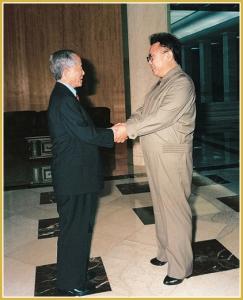 170216-naenara-kim-jong-il-patriot-aller-zeiten-077-beim-empfang-von-choi-hong-hui-praesident-der-internationalen-taekwondo-foederation-oktober-2000
